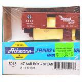 ATSF Santa Fe 145372 Box Car Athearn HO