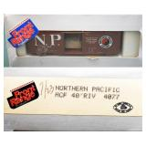Northern Pacific NP1056 40ft Box Car Front Range H
