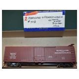 Maryland & Pennsylvania Ma&Pa 728 Box Car HO