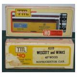 Westcott & Winks Eggs 1043 Wood Reefer HO