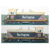 Burlington CB&Q 9208 NW-2 Switcher DC Kato HO