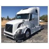 2011 Volvo D13 Sleeper Truck Tractor at www.WestAuction.com