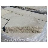 Online Auction of Patio Pavers and Concrete Retaining Wall Blocks for Sale in Dixon, CA at www.WestAuction.com