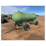 1,000 Gallon fuel trailer