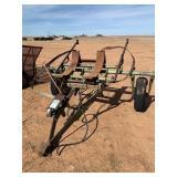 Spray rig frame