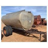 Aluminum water trailer