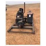 Diesel engine with pump