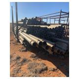 LARGE LOT OF ALUMINUM PIPE