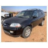 2002 ACURA MDX CAR