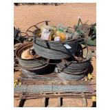 PALLET OF ELECTRIC FENCE WIRE
