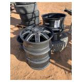 (6) ALUM WHEELS FOR FORD DUALLY