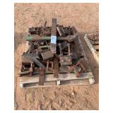 PALLET OF CLAMPS