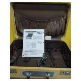 URO CASE Travel Iron Handle Suitcase Very Rare