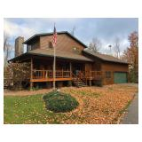 Beautiful Columbus Lake Home,Cleary Building & 10.5 +/- Acres ! BEING SOLD TO THE HIGHEST BIDDER!