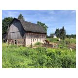 Crandon WI** Cabin, Barn & 6 Acres on the Wolf River! **** Being Sold to Highest Bidder!