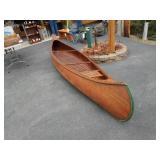 Cedar Strip Canoe - Antique - 15