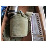 Ducks Unlimited Thermos/Military Canteen & Belt