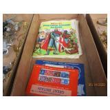 Postage Stamps & Album