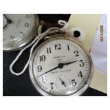 2 Westclox Pocket Watches