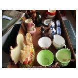 Creamers, Salt & Pepper Shaker, Honey Bear, Etc.