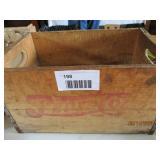 Wooden Pepsi Cola Box