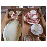 China Dish Sets, From England, Etc.