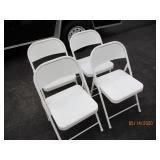 4 Metal Folding Chairs