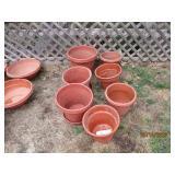 Assorted Size Plant Pots