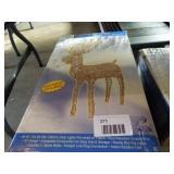 "48"" Lighted, Animated Standing Buck"