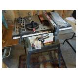 """Ace 10"""" Bench Tablesaw with Stand"""