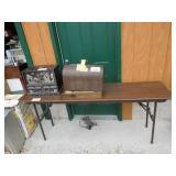 """Folding Heavy Duty Table 18"""" Wide x 72"""" Long"""