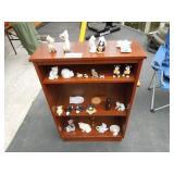 Lovely Wood Shelving Unit - Figurines