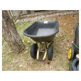 Double Wheel Plastic Wheel Barrow - Heavy Duty