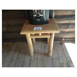 """Log Table 20"""" x 20"""" Top, 27"""" Tall"""