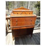 "Antique Dresser on Legs 50"" Tall x 36"" Wide"