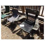3 Folding Chairs