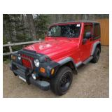 2003 Jeep Wrangler - Only 62,000 Miles!