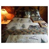 Northwoods Quilt with Pillow Shams