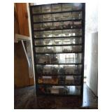 Organizer with Electrical Items, Etc.
