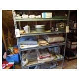 Shelving Unit and All Contents