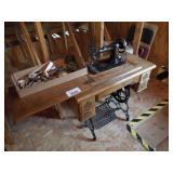 Davis Foot Pump Sewing Machine & Accessories