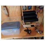 Tacklebox, 2 Reels Mitchell & Daiwa