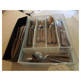 Silverware Set and Holders