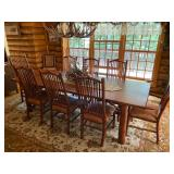 Hickory Table Sept 19 St.Louis Auctions Woodruff WI