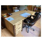 Hickory Desk Sept 19 St.Louis Auctions Woodruff WI
