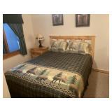 3 piece natural pine bedroom set (see details)