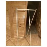 """Clothes rack 60"""" tall x 21"""" wide"""