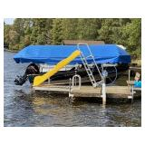 Newman boat lift with 20
