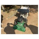 Billy Goat yard vac with bagger, hose system