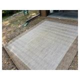 Waterproof outdoor rug 8x10